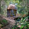 Airbnbで人気のあるカリフォルニアのキノコ型ドームの小部屋